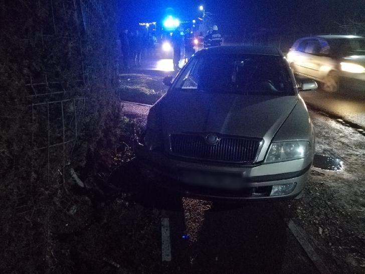 Accident rutier în comuna Drăgăneşti, în Ajunul Crăciunului