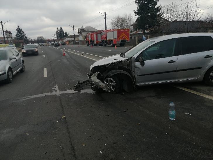 Accident rutier pe DN 1, la Puchenii Moşneni