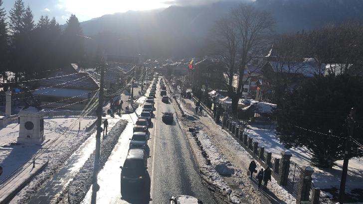 INFORMARE IJP PRAHOVA.Au crescut valorile de trafic pe Valea Prahovei