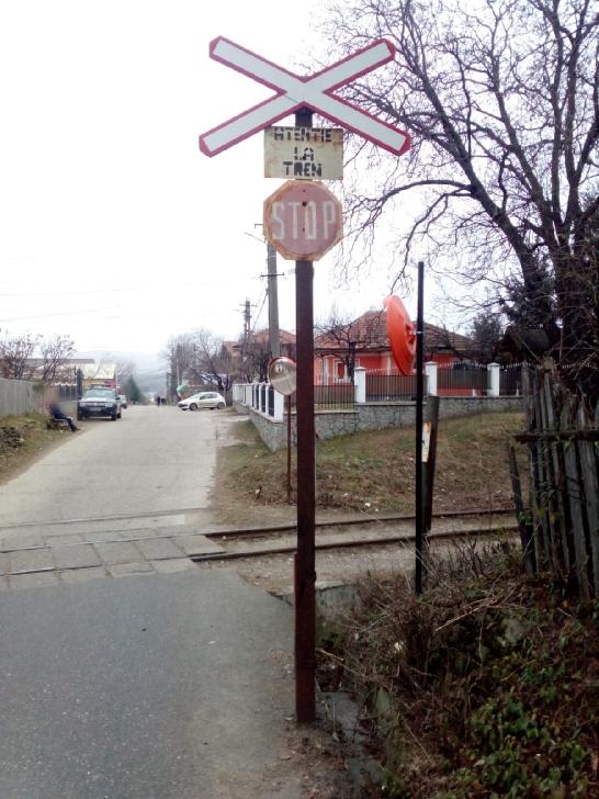 Accident rutier la trecerea la nivel cu calea ferată Măneciu Ungureni- sat Gheaba