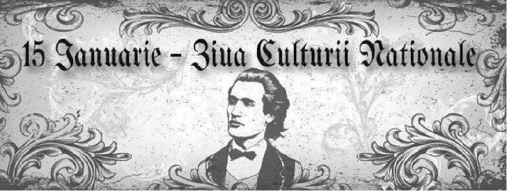 """Casa de Cultură """"Ion Luca Caragiale""""  Ploieşti va marca   ziua de naştere a poetului Mihai Eminescu şi Ziua Culturii Naţionale Române"""