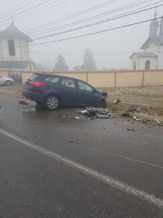 Accident rutier la Ciupelniţa