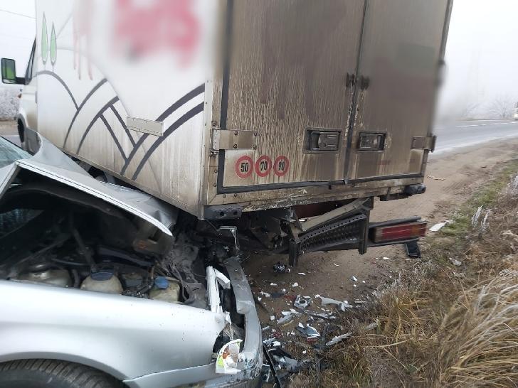 Accident rutier în zona transformator Brazi