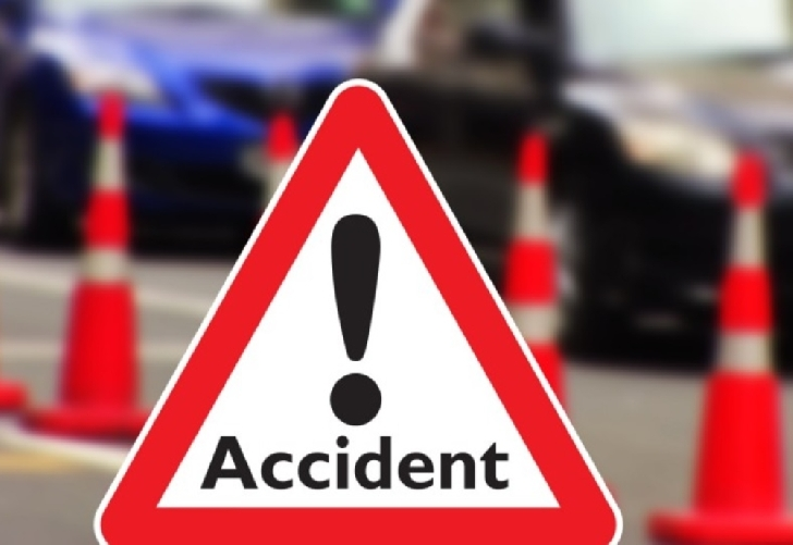 Accident rutier la Tinosu.Au fost doar pagube materiale