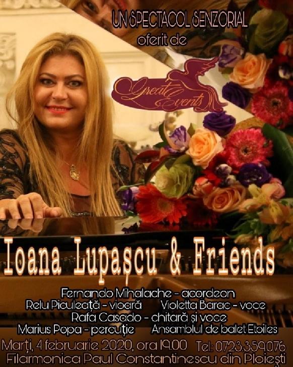 Ioana Lupascu va canta in primul spectacol senzorial din 2020