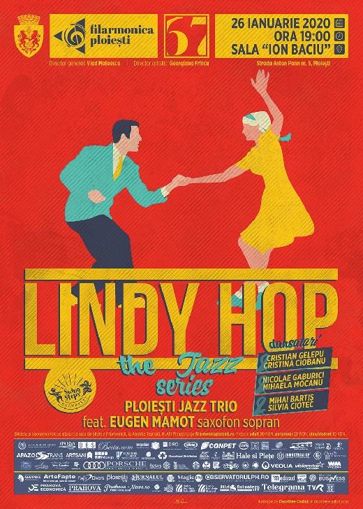 """Lindy hop, fenomenul muzical care a cucerit lumea, se aude duminică la Filarmonica """"Paul Constantinescu"""""""