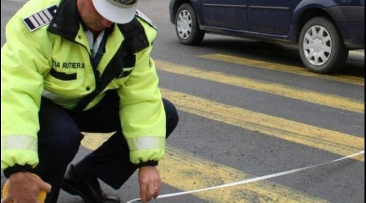 Accident rutier pe B-dul Republicii din Ploieşti. O femeie a fost acroşată pe trecerea de pietoni