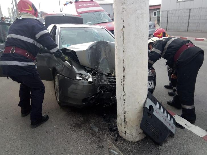 Accident rutier pe strada Luminişului din Ploieşti