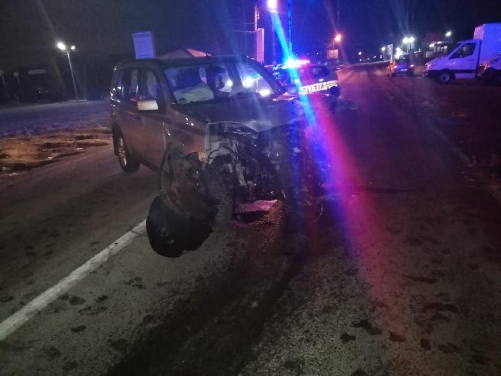 Accident rutier, noaptea trecută, la Boldeşti Scăieni