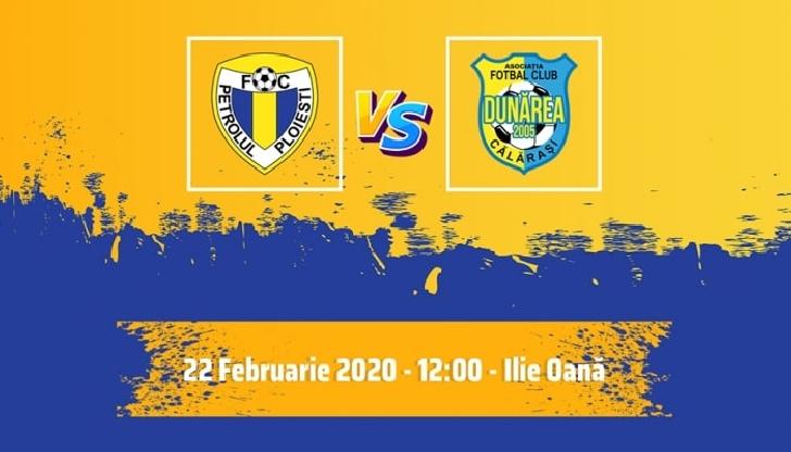 Reîncepe Liga 2. Petrolul Ploiesti-Dunarea Călăraşi pe 22 februarie 2020