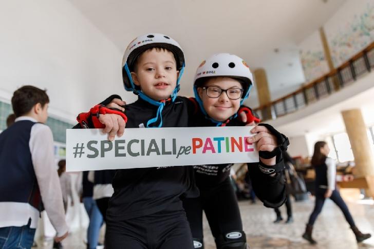 66 de sportivi cu dizabilităţi intelectuale participă la primul Campionat Naţional de Patinaj Adaptat (Role şi Gheaţă) Special Olympics România