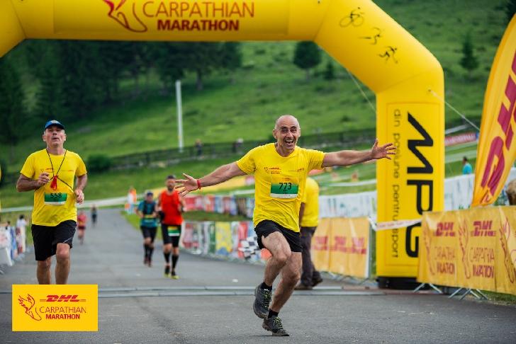 Fii campion pentru campioni şi înscrie-te la cea de-a 11-a ediţie DHL Carpathian Marathon powered by MPG