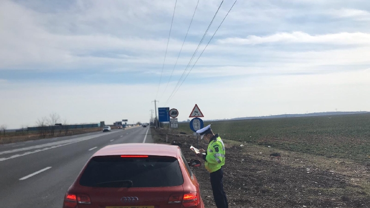 Poliţia Rutieră Prahova a aplicat 118 sancţiuni contravenţionale, într-o amplă acţiune rutieră