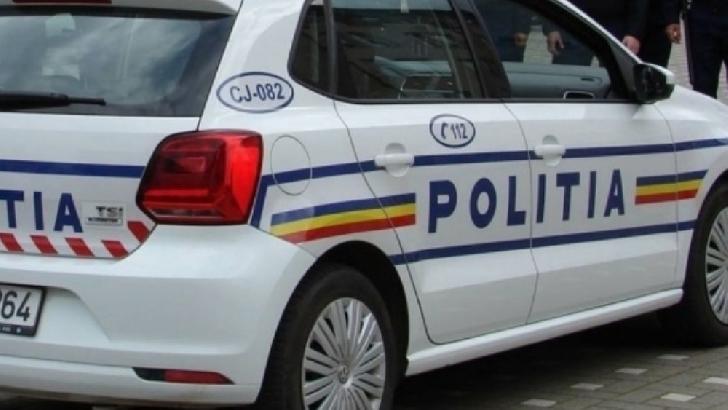 Accident rutier în Ploieşti, pe podul de la Dedeman