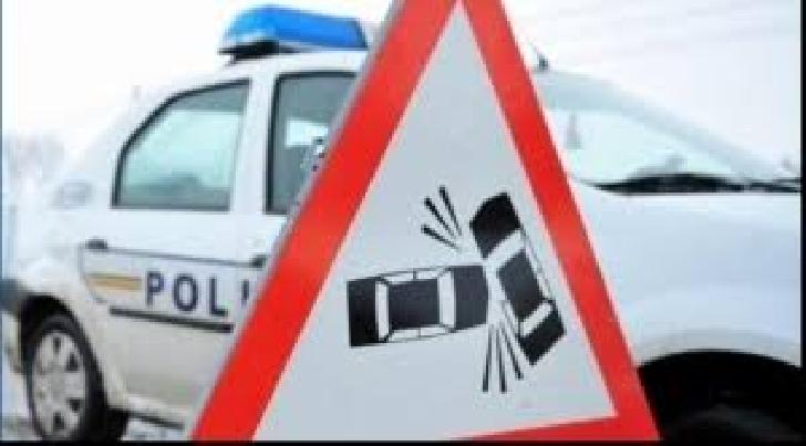 Accident rutier în Ploieşti, pe strada Poştei