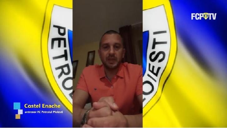 """Costel Enache,mesaj catre toti petrolistii : """"Trebuie să fim personaje pozitive"""" (video)"""