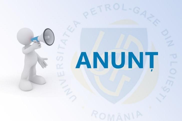 Universitatea Petrol-Gaze din Ploieşti organizează concurs pentru ocuparea postului de Director General Administrativ
