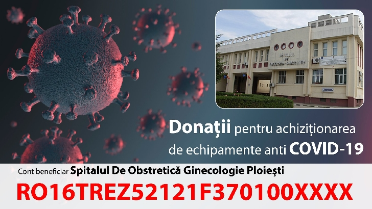 Loredana Chelba a demarat o campanie de strângere de fonduri pentru Spitalul de Obstretică şi Ginecologie Ploieşti