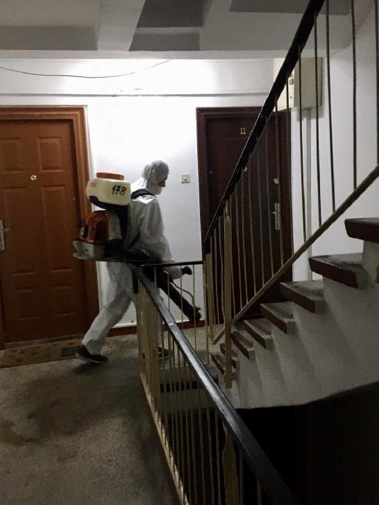 Primaria Ploiesti  a dispus  demararea acţiunilor de dezinfectare la nivelul blocurilor de locuinţe din municipiu