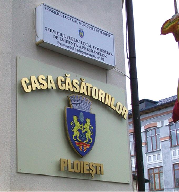 Se suspendă  oficierea căsătoriilor în municipiul Ploieşti , pe perioada stării de urgenţă