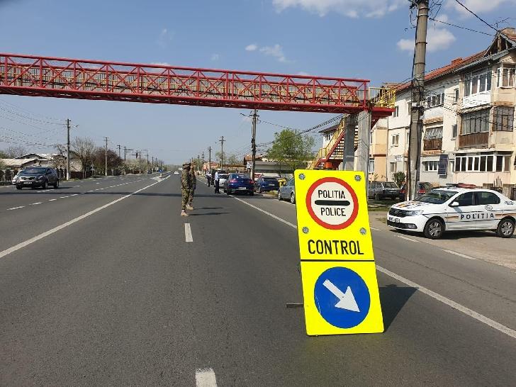 Acţiuni rutiere cu efective mărite au fost organizate în cursul zilei de vineri  pe raza întregului judeţ Prahova