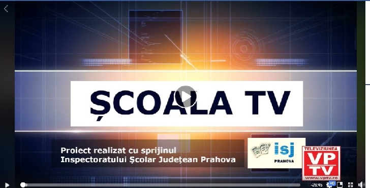 """VPTV si Inspectoratul Scolar Judetean Prahova au lansat proiectul ,,Scoala TV """""""