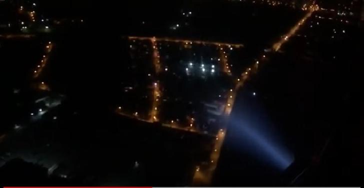 Zonele periculoase din Mizil şi cartierul Mimiu din Ploieşti au fost survolate de elicoptere IGAV-MAI (video )