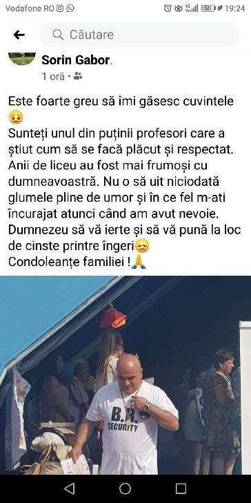 """Doliu la Colegiul Tehnic"""" Lazăr Edeleanu"""" Ploieşti. Profesorul de geografie, Sorin Gabor a decedat, la doar 53 ani"""