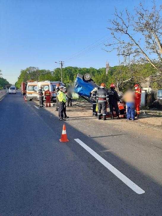 Accident rutier la Româneşti. O persoană a decedat