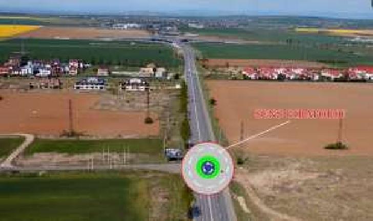 Un nou sens giratoriu se va construi la ieşirea din Ploieşti spre Blejoi