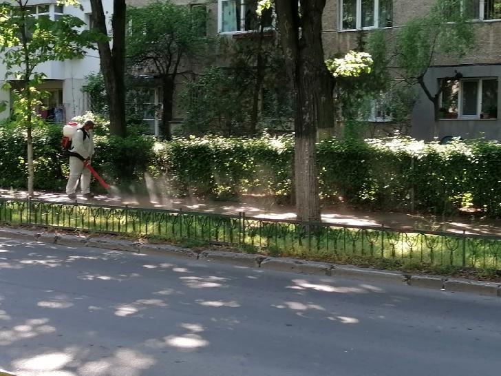 Programul activitatilor  de dezinfecţie la nivelul blocurilor din municipiul Ploieşti.30 aprilie 2020