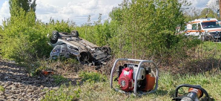 Nerespectarea semnalelor la trecerea de cale ferată este cauza accidentului în care a murit un poliţist local din Prahova