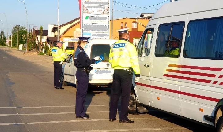 Luni,politistii rutieri din Prahova au retinut 6 permise de conducere,pentru alcoolemie