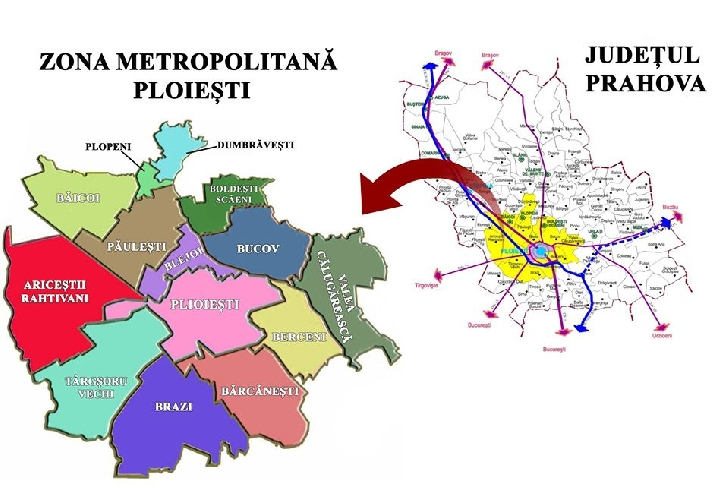 Se circulă fără declaraţie scrisă în interiorul Zonei Metropolitane Ploieşti