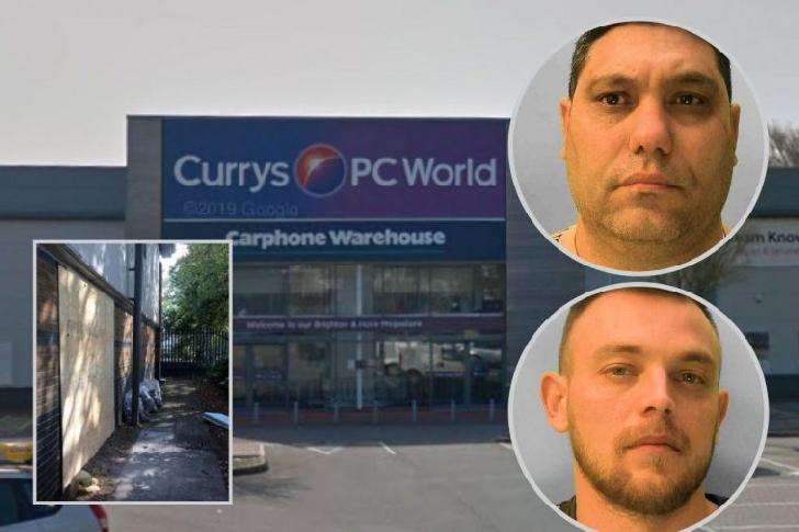 In Anglia,români mascaţi au dat o  spargere la un magazin de electronice închis pe perioada pandemiei
