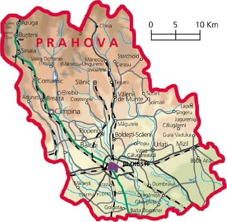 Unde pot calatorii prahovenii fara declaratie pe propia raspundere sau adeverinta in zona metropolitana Ploiesti/Prahova