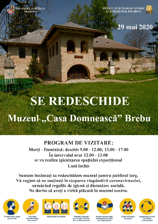 """Se redeschide Muzeul """"Casa Domnească"""" Brebu"""
