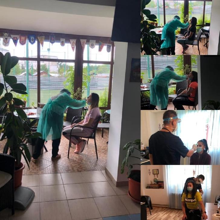 Handbalistele de la CS Activ Prahova Ploieşti s-au reunit şi au făcut testarea pentru Covid 19 (coronavirus)