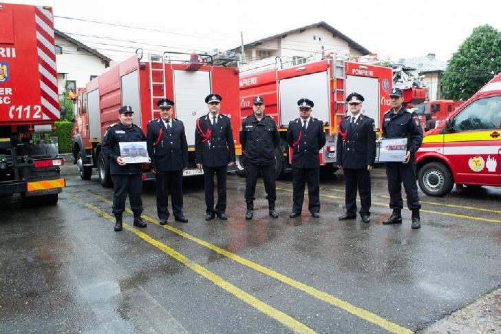 Amplă acţiune de dezinfecţie la subunităţile de pompieri de la Câmpina, Plopeni şi Băicoi