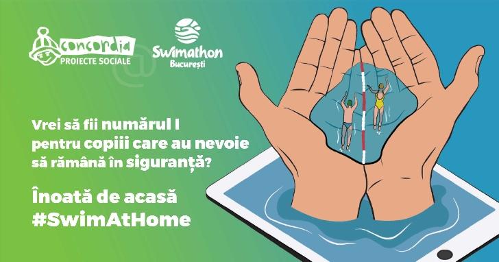 Distreaza-te si strange fonduri pentru copiii nevoiasi, la Swimathon Bucuresti