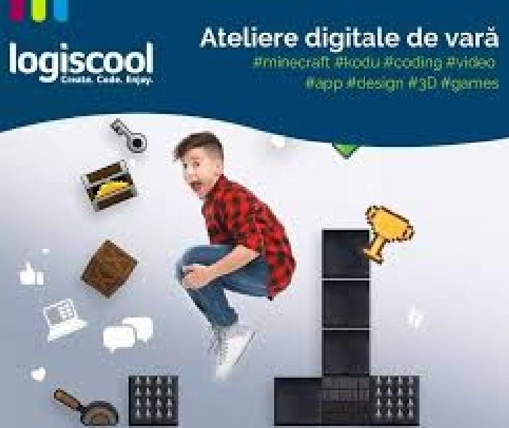 Logiscool lansează Atelierele Digitale Online,  proiect dedicat elevilor care vor să devină creatori digitali în vacanţa de vară