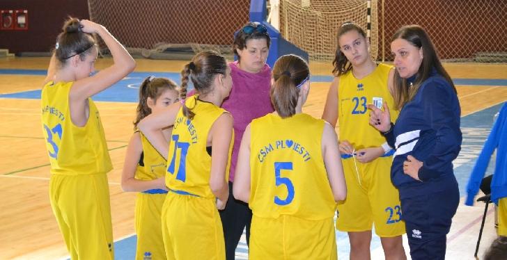 """FR Baschet a stabilit data turneului final al  """"U14"""" (baschet feminin)"""
