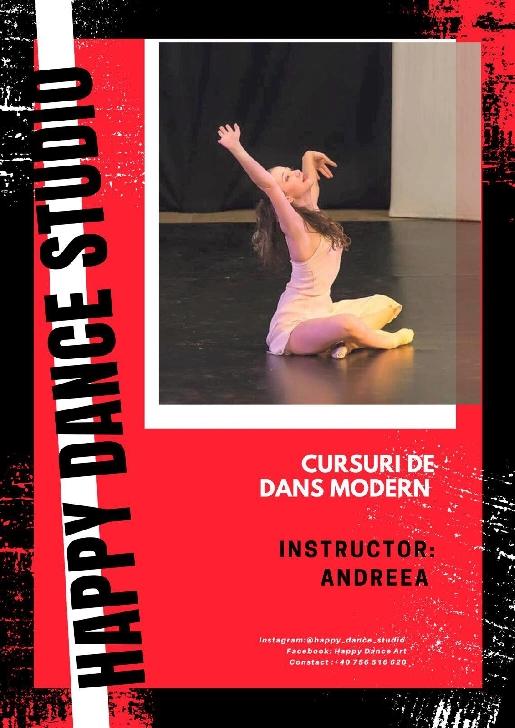 TRUPA HAPPY DANCE Ploieşti. Andreea Grigore, studenta care dansează de la vârsta de 4 ani