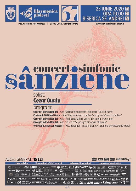 Cezar Ouatu, în concert extraordinar de Sânziene