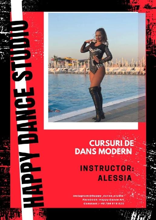 """EXCLUSIV. INTERVIU CU ALESSIA ANDREEA ENE, DANSATOARE TRUPA HAPPY DANCE."""" Alessia este o persoană timidă, emotivă, prietenoasă, ambiţioasă, iubitoare, luptătoare"""""""