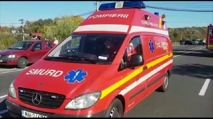 Accident rutier pe DN 1, la Cornu