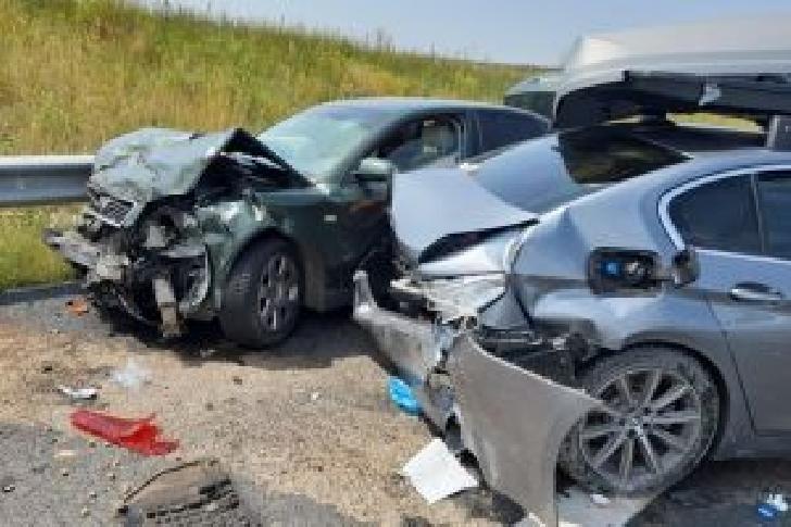 Accident rutier la Cornu, soldat doar cu pagube materiale