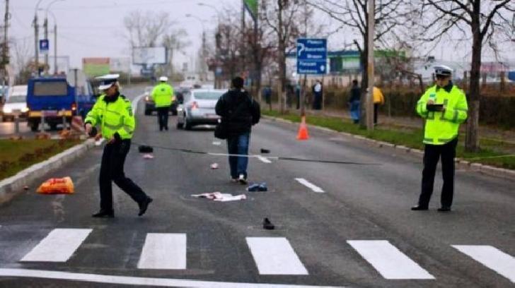 La Lipăneşti, o femeie a fost accidentată pe trecerea pentru pietoni