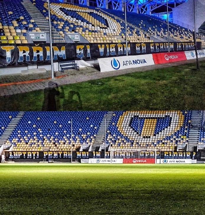 La Arad vrem determinare şi respect pentru tricoul galben-albastru