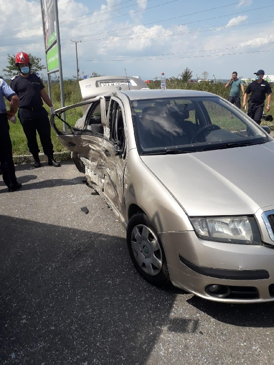 Accident rutier la ieşirea din Ploieşti